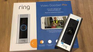 ring Video Doorbell Pro unboxing german