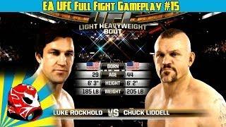 Chuck Liddell vs. Luke Rockhold Full Fight | EA Sports UFC 2014 Gameplay (Xbox One)