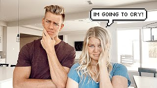 TELLING MY WIFE I DON'T WANT KIDS PRANK!