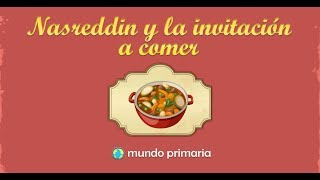 Nasreddin y la invitación a comer