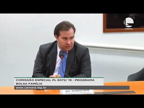 PL 6072/19 – Programa Bolsa Família - Reunião de instalação e eleição – 17/12/19