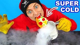 WORLDS COLDEST GUMMY FOOD!! (LIQUID NITROGEN)