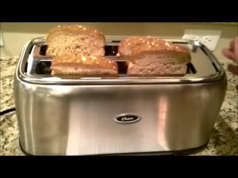 , Oster Long Slot 4-Slice Toaster, Stainless Steel (TSSTTR6330-NP)