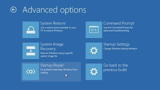 Windows 10: Resolve startup problems with the Advanced Boot Options