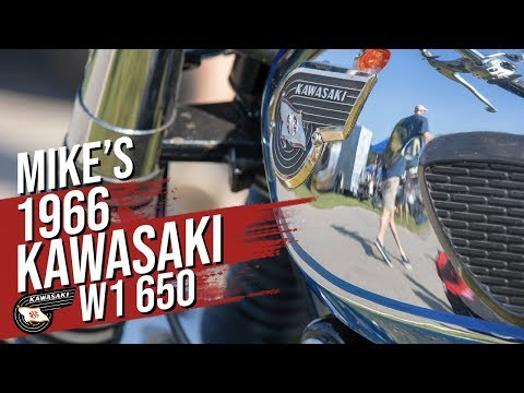 1966 Kawasaki W1 650 Interview with the builder
