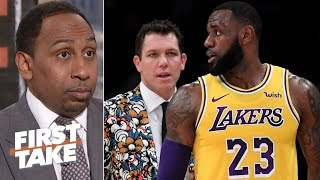 If LeBron doesn't want Luke Walton, Magic Johnson has to make changes – Stephen A. | First Take