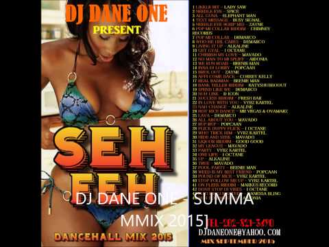 DJ DANE ONE – SEH FEH DANCEHALL MIX (((( SEPTEMBER 2015))))