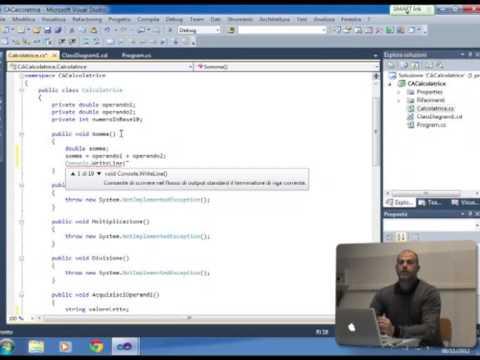 C# Lezione 4 (Esercitazione): Programma Calcolatrice