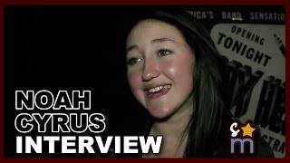 "Noah Cyrus,  Гид Noah Cyrus Talks ""Seriously Cyrus"" & Fangirls Over Harry Styles & One Direction"