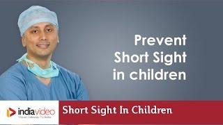How can we prevent short sight in children? Dr. Ashley Mulamoottil explains