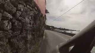 preview picture of video 'Zipping along narrow Harbour Rd, Hamilton Bermuda - 3/22/14'