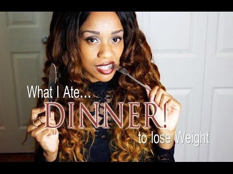 Video What I Ate to lose 70 Pounds | DINNER | Food Options