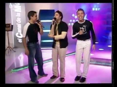Banda XXI video Lo que me pidas - Estudio CM 2002