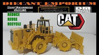 Diecast Masters Core Classics Caterpillar 836H Landfill Compactor Unboxing & Review