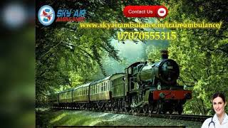 Choose Rail Ambulance Service in Kolkata and Guwahati at a Low Fare