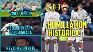EL MADRID HUMILLADO POR EL CSKA (0-3) | ISCO PITADO Y BRONCA CON GRADA | PEOR DERROTA EN CHAMPIONS | Kholo.pk