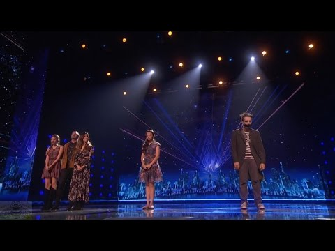 America's Got Talent 2016 Semi-Finals Round 1 Results Part 3 Dunkin Save Act S11E19 (видео)