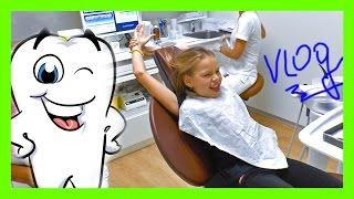 VLOG: Поход к стоматологу в Австрии.  Ставим клубничные пломбы Visits the Dentist