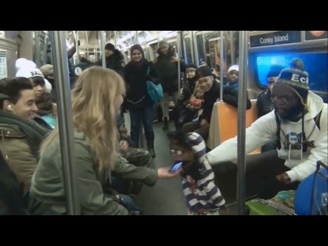Ventriloquist Picking Up Girls On The Subway(Part 1)