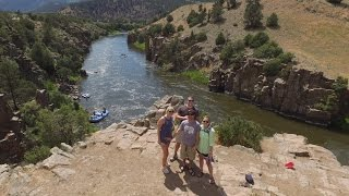 Hiking Radium, Silverthorne Colorado, Canyons, Cliff Jumps, Rafters & More