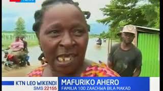Familia 100 zaachwa bila makao baada ya mto Nyando kuvunja kingo zake