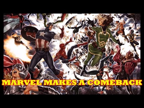 MARVEL COMIC BOOKS ARE OUTSELLING DC COMICS?  WHAT ARE READERS REALLY BUYING?