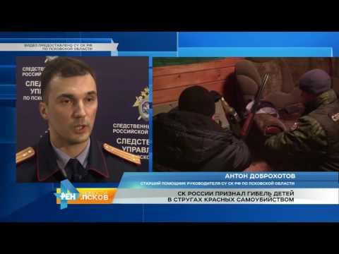 Новости Псков 15.11.2016 # СК России признал гибель детей в п.Струги Красные самоубийством