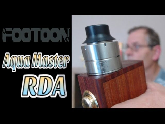 Aqua Master RDA by Footoon - Review & Build