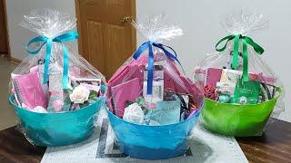 #diybasket #mothersday #dollartree DIY Mothers Day Gift Basket