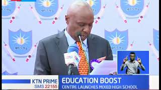 Gideon Moi launches Moi educational center, set to enroll students next year