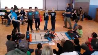 January 7, 2017 Tournament at Westview – Qualifying Match with Timberline Elementary's Team 7900D, Romeo