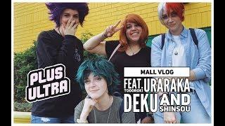 BNHA Mall Vlog — Feat. Todoroki, Deku, Uraraka, and Shinsou    JAZZY IS BACK!