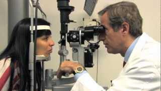 Elisabeth recupera visión perdida por diabetes. Dr. García-Arumí. - José García-Arumí