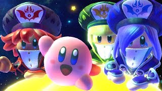 Unlocking New Friends In Kirby Star Allies + Final Boss & Ending The Three Sisters