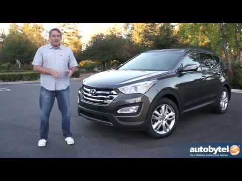 2015 Hyundai Santa Fe Sport Test Drive and Video Review