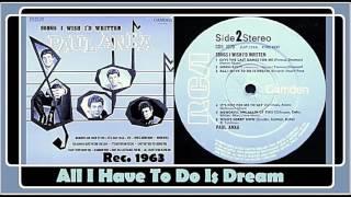 Paul Anka - All I Have To Do Is Dream (Vinyl)