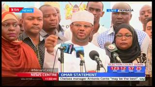 Senetor Hassan Omar claims the main issue between Governor Joho and President Uhuru is a business f