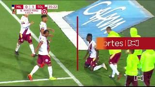 Millonarios 0-1 Tolima: Gol Marco Pérez I Deportes RCN