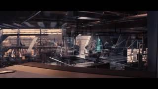 Avengers Age Of Ultron Escena Ultron Destruye A Jarvis Español Latino HD