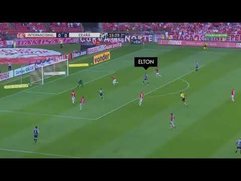 Gol | ELTON | 28.10.2017 - Brasileiro Série B | Internacional 0 x 1 Ceará