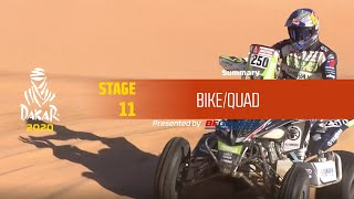 Dakar 2020 - Stage 11 (Shubaytah / Haradh) - Bike/Quad Summary