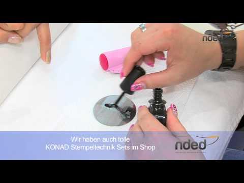 Nailart Shop mit Anleitung für Konad Stempeltechnik | nded.de
