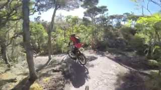 preview picture of video 'EBS Riders Club at Great Lake Trail, Taupo'