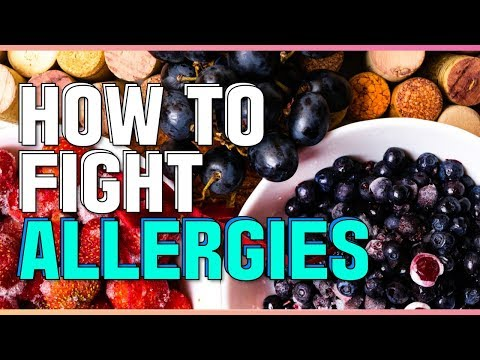 , title : 'How to fight allergies naturally, histamine and antihistamine food