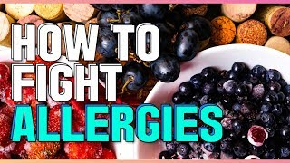 How To Fight Allergies Naturally, Histamine And Antihistamine Food