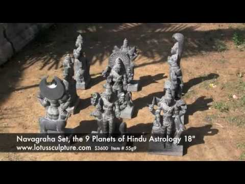 Granite 9 Statue Navagraha Set 18