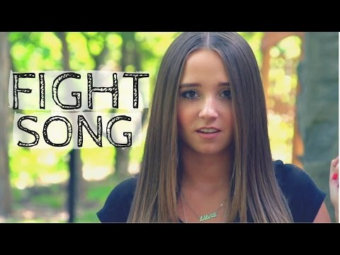 Fight Song - Rachel Platten | Cover by Ali Brustofski (Music Video)