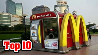 Top 10 SMALLEST Buildings In The WORLD