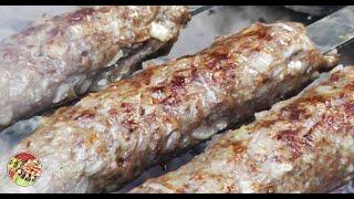 Люля кебаб и салат Шакароб. Просто, вкусно, недорого. Как приготовить.