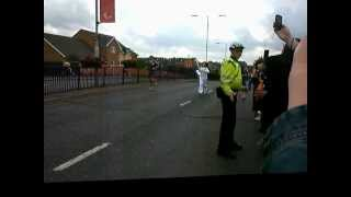preview picture of video 'Olympic Torch Change Over in Waltham Cross.wmv'